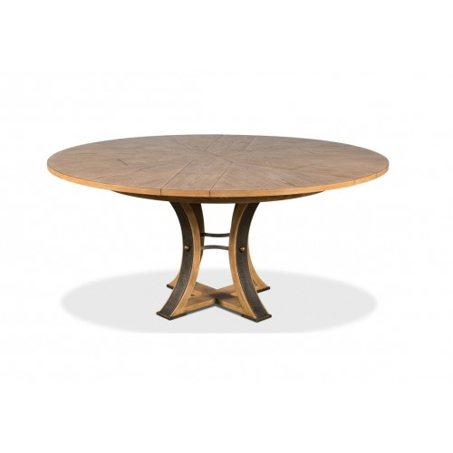Tower Jupe Dining Table Heather Grey
